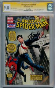 Amazing Spider-man #573 Stephen Colbert Retailer Variant CGC 9.8 Signature Series Signed Stan Lee Marvel comic book